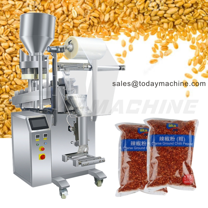 Купить с кэшбэком Full Automatic coffee bean peanut Cashew NutPacking Machine, ground coffee, spice powder weighing filling sealing machine