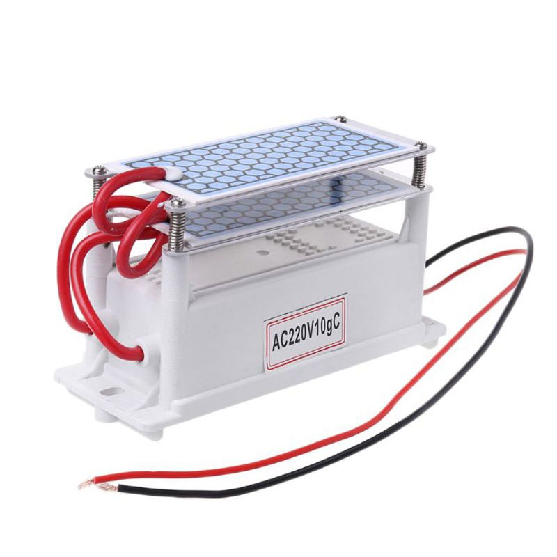 10g/h DC12V/AC220V Portable Ozone Generator Integrated Ceramic Ozonizer K1AD