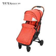 Najnowszy wózek dziecięcy Yoya Plus Pro z nakładka ochronna na buty Yoyaplus Pro wózek na zimę lekki wózek dla dziecka wózki podróżne tanie tanio CN (pochodzenie) 50kg 0-3 M 4-6 M 7-9 M 10-12 M 13-18 M 19-24 M 2-3Y Numer certyfikatu