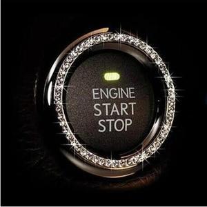 Car Start Stop Ignition Key Ring for Renault Koleos Fluenec Kangoo Latitude Sandero Kadjar Captur Talisman Megane RS Laguna(China)