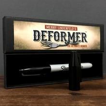 Deformer от Menny Lindenfeld(трюк ручка и онлайн инструкция) ментализм фокусы комедия монета изгиб иллюзии магический реквизит