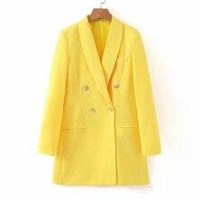 Women Fashion Long Sleeve Coat Elegant Turn-Down Collar Outerwear Pocket Jacket high quality dropshiping W903 цена
