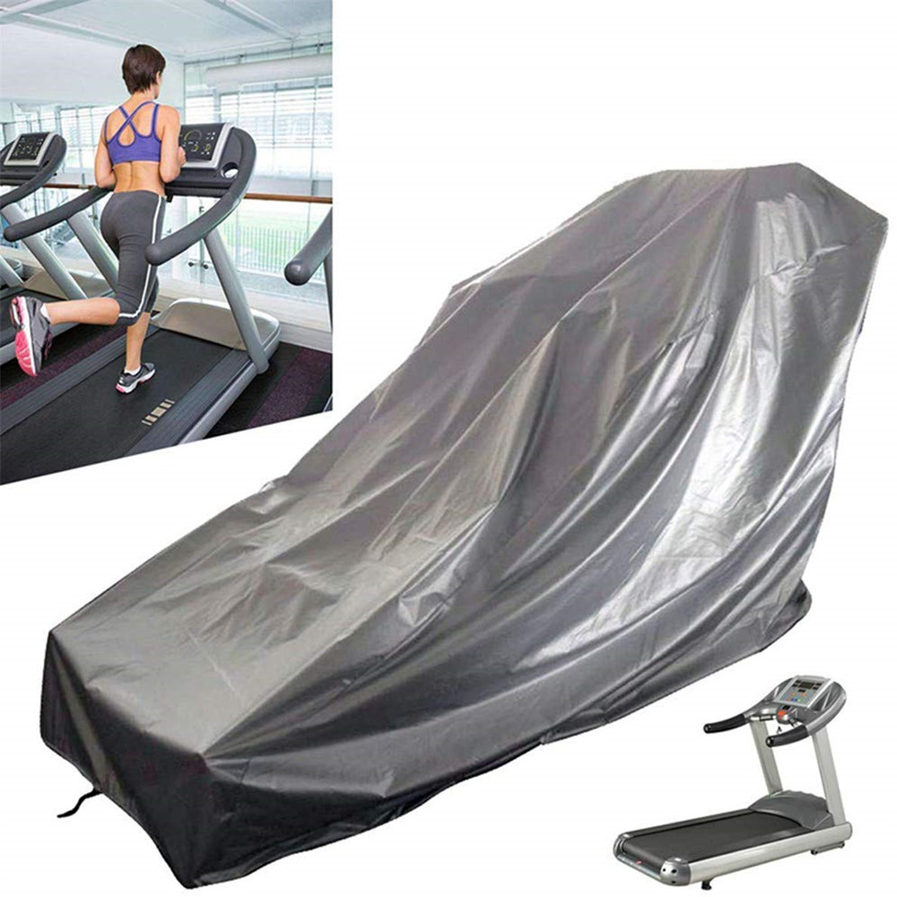 Waterproof Furniture Cover Treadmill Cover Dust-proof Moisture Dust Covers Indoor Outdooor Running Machine Protective Cover
