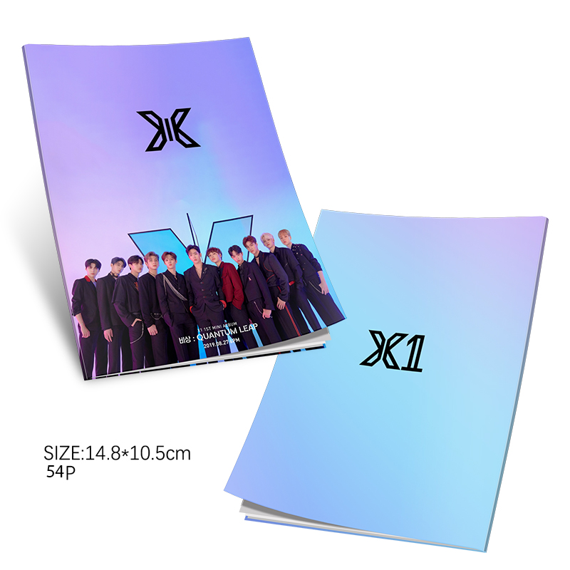 Kpop Produce101 X1 New Album  Mini Photobook Fashion K-pop XONE Photo Album Photo Card Fan Collection DropShipping