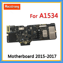 Getest A1534 Moederbord 1.1GHz 256/512GB 2015 2016 voor MacBook Retina 12 \