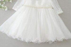 Image 4 - Hetiso Baby Girl chrzest sukienka niemowlę chrzciny sukienki dla dziewczynek 1 pierwsze urodziny Party księżniczka suknia na ślub 3 24M