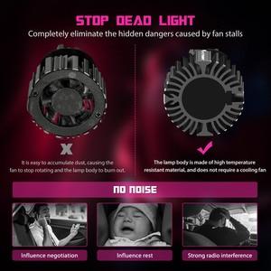 Novsight Автомобильные фары H4 светодиодный H7 светодиодный лампы для фар H8 H9 H11 Светодиодный светильник 9005 HB3 9006 HB4 Автомобильные фары Противотум...