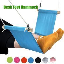цена на New Desk Feet Hammock Foot Chair Care Tool The Foot Hammock Outdoor Rest Cot Portable Office Foot Hammock Mini Feet Rest