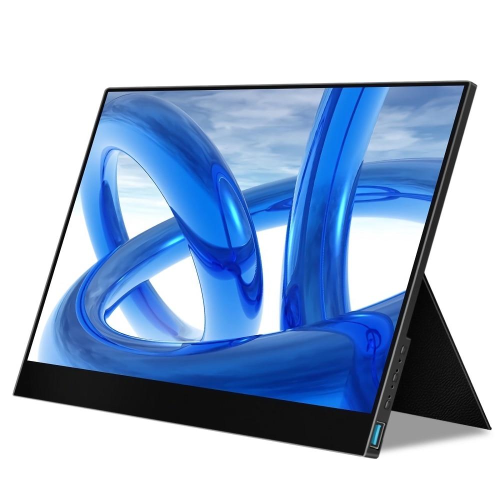 Monitor de ordenador portátil de 17,3 pulgadas, ultrafino, 144Hz, 1080P, pantalla de juegos para Smartphone, tableta y portátil