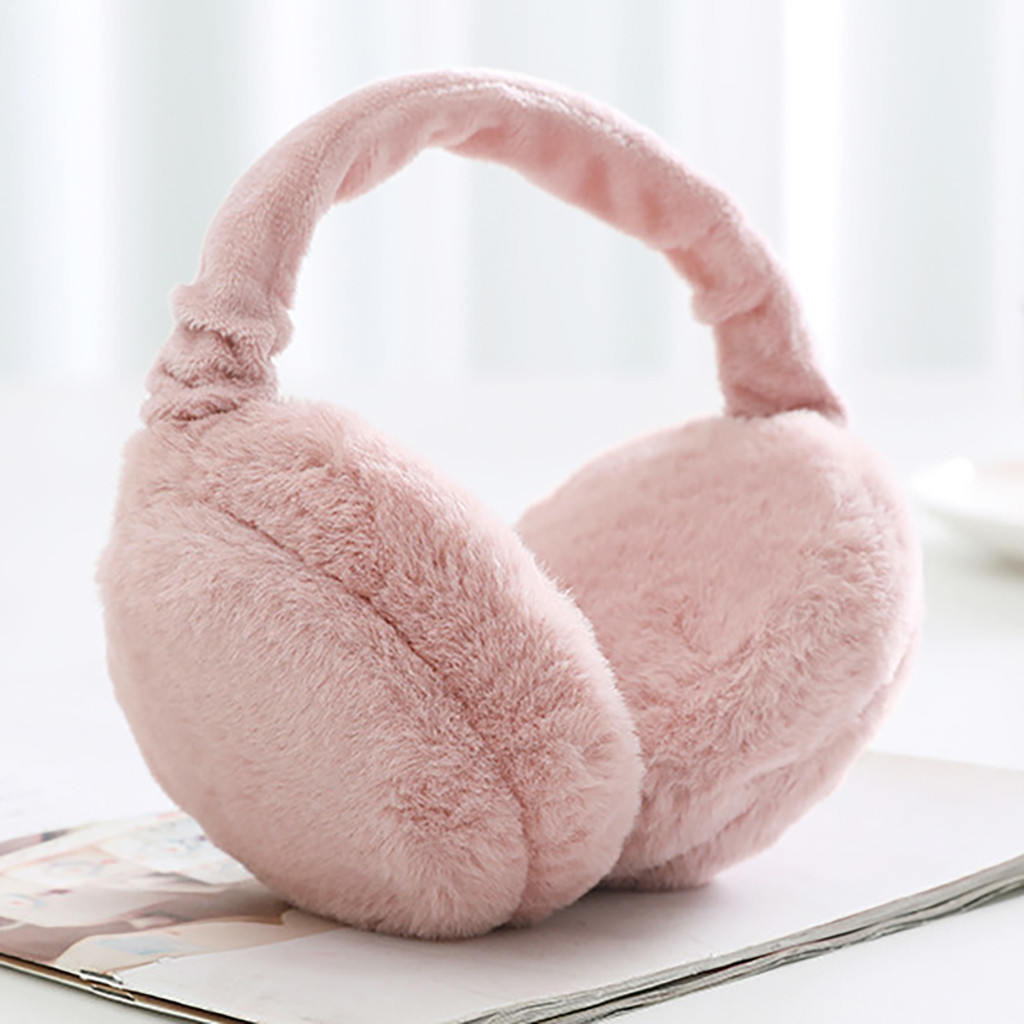 Winter Earmuffs Lovers Ear Warmer Plush Faux Fur Girl Ladies 12 Colors Hot