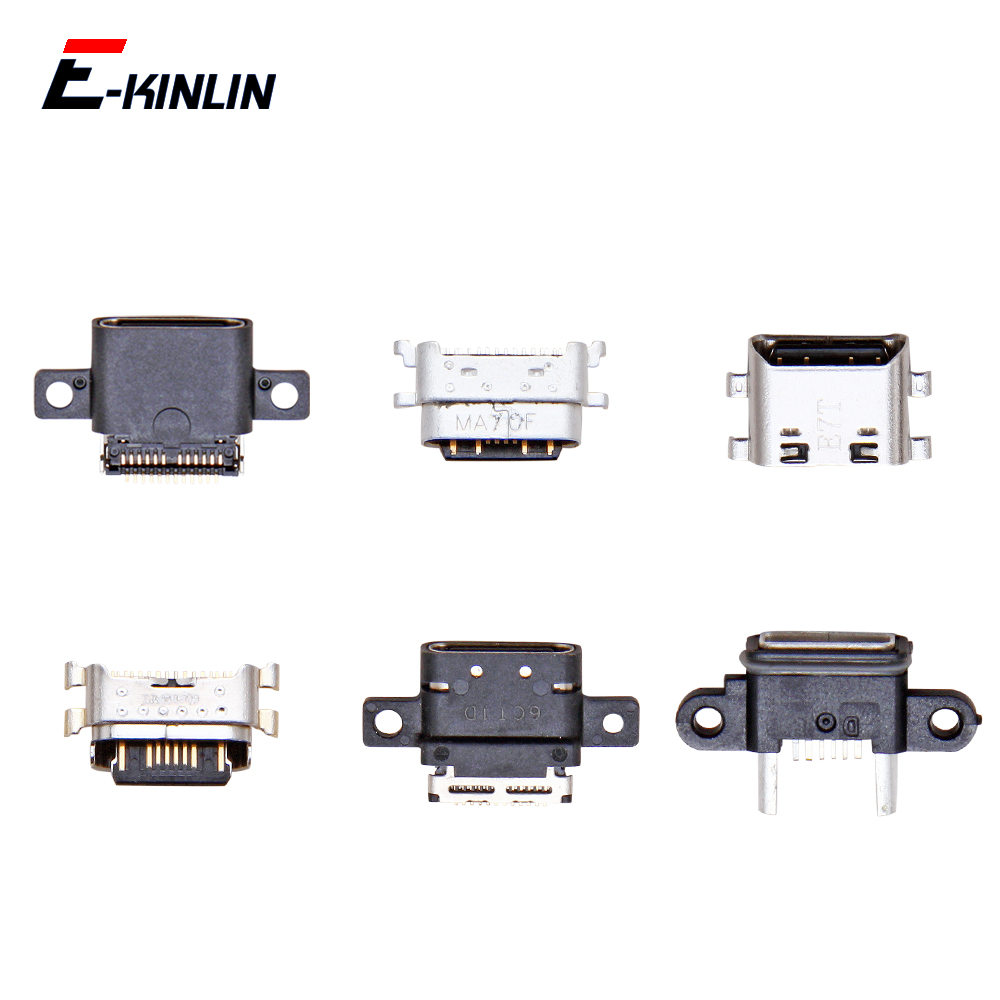 Micro USB Jack Type-C Charging Connector Plug Port Dock Charge Socket For XiaoMi Mi 6X 5X 5S 5C 5 4S 4i 4C 4