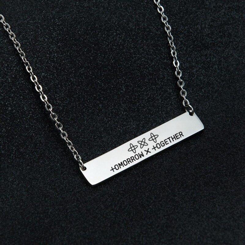 TXT сочетание имя кулон ожерелье