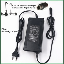 42V 3A Điện Skatebaord Adapter Xe Tay Ga Sạc 36V Mijia M365 Pro Xe Điện Xe Đạp Phụ Kiện EU/hoa Kỳ/AU/Phích Cắm UK
