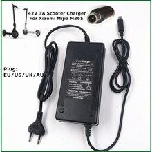 Chargeur électrique de Scooter dadaptateur de skate baord de 42V 3A pour 36V Mijia M365 Pro accessoires électriques de vélo de Scooter ue/usa/AU/prise britannique