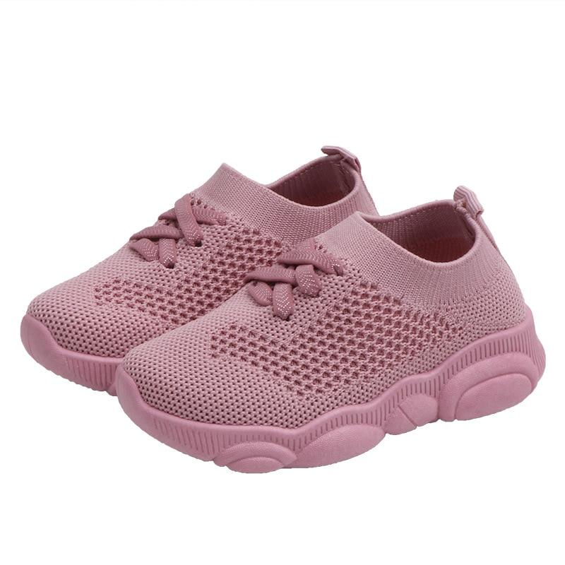 criancas sapatos primeiro walker anti deslizamento fundo macio do bebe sneaker casual sapatos esportivos planos criancas