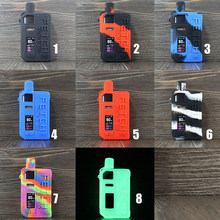 2pcs Silicone case for SMOK Fetch Pro Pod Kit 80W Vape Texture skin Cover Sleeve Wrap shell gel shiel lodge pouch hull damper(China)