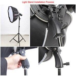 Image 3 - Triopo 90cm Photo Portable extérieur Speedlite octogone parapluie Softbox pour Godox V860II TT600 Yongnuo YN560IV YN568EX Flash KS90