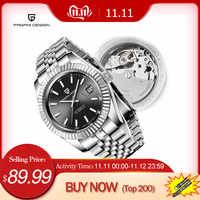 Männer Uhren 2019 Neue Top Luxus Marke PAGANI Design Mode Automatische Mechanische Stahl Uhr Männer Militär Sport Armbanduhr + box
