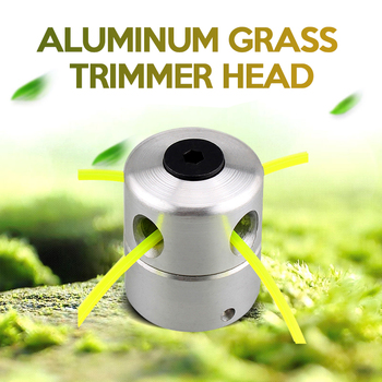 Aluminum Grass Trimmer Head With 4 Lines Brush Cutter Lawn Mower Accessories Cutting Line for Strimmer Replacement - discount item  37% OFF Garden Tools