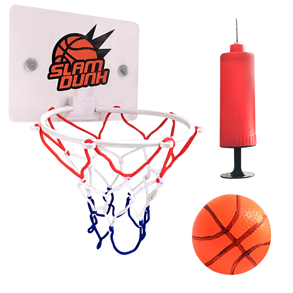 Пластиковая баскетбольная доска с обручем, мини-сетевая доска, набор сетки, детские спортивные игры в мячи для помещений, детские игрушки