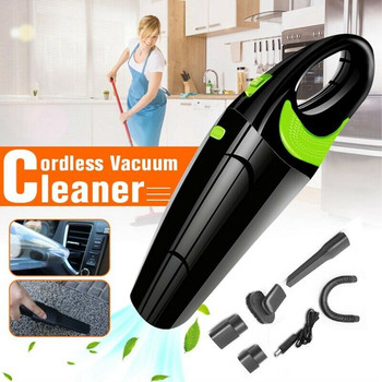 Car Vacuum Wireless/Cable Cleaner Portable Handheld 120W 4000kpa Powerful Cordless Wet&Dry USB Charge Home Mini Vacuum Cleaner handheld wireless vacuum cleaner home 120w usb cordless wet dry mini vacuum cleaner dust collector for home car cleaning