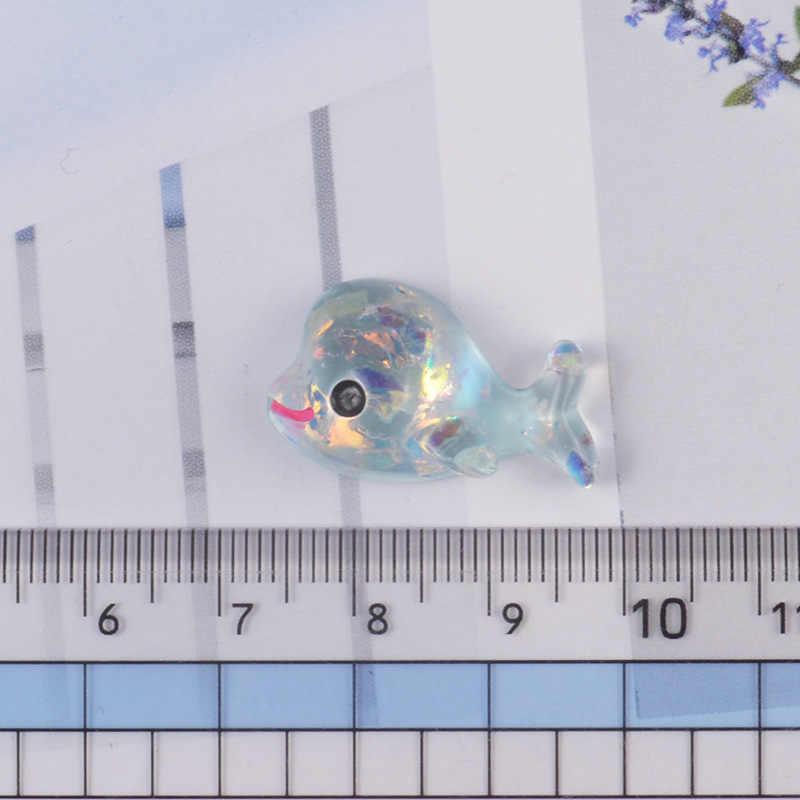 シミュレーションスパンコールイルカ Lizun スライムアクセサリーポリマークレイチャーム DIY クリーム接着剤樹脂材料クリスタル泥スライムフィラー