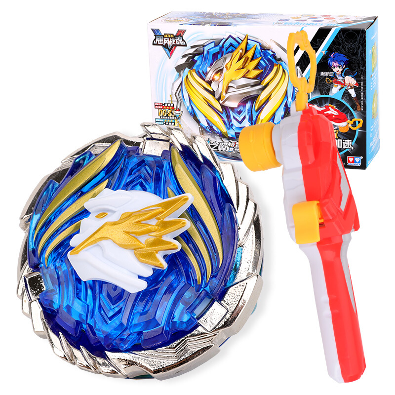 Newest Classic Toys Gyro Toy Metal Fusion 4D Constellation Battle Spinning Top With Launcher For Children Gift
