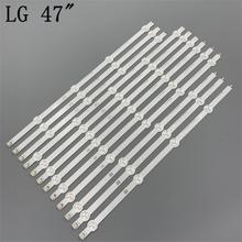 (New Original Kit) 12 PCS LED backlight strip for LG TV 47LA620S 6916L 1259A 6916L 1260A 6916L 1261A 6916L 1262A LC470DUE