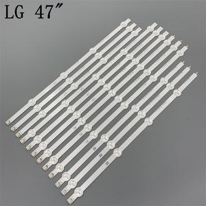 Image 1 - (New Original Kit) 12 PCS LED backlight strip for LG TV 47LA620S 6916L 1259A 6916L 1260A 6916L 1261A 6916L 1262A LC470DUE