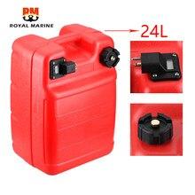6yj-24201 tanque de combustível de popa (24l) com assy 61j-24360-00 da tubulação de combustível para o motor de popa 6yj-24201-10 6yl-24201-01 de yamaha