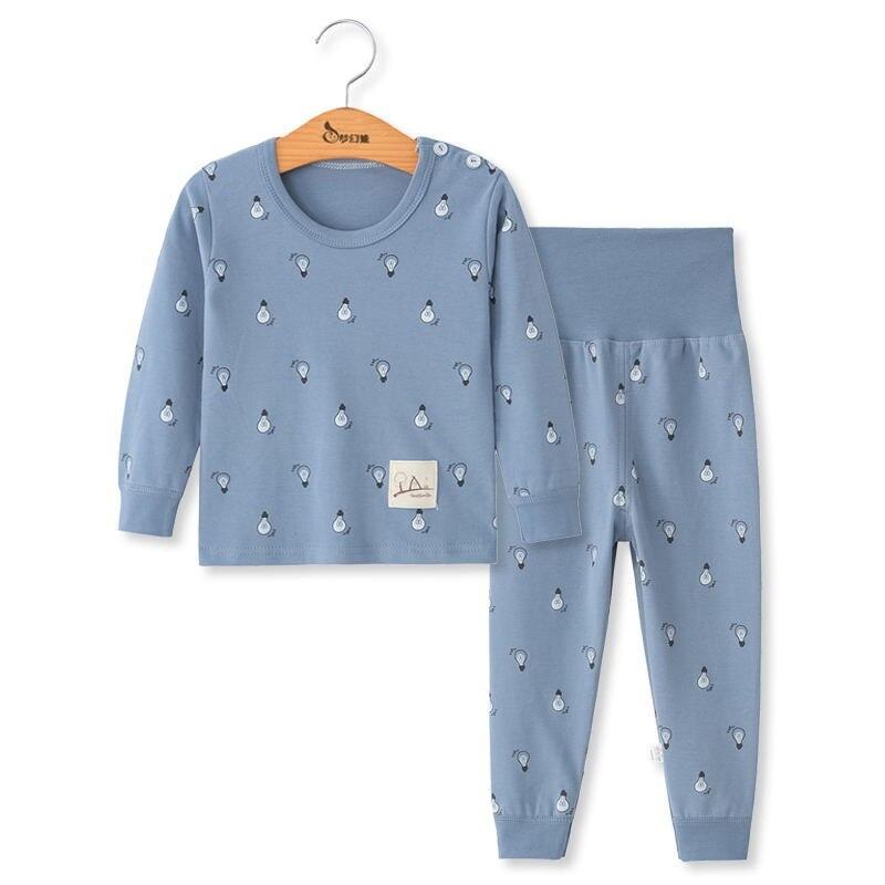 Toddler boys sleepwear pajamas baby girl winter cotton sets children homewear for boy pyjamas kids nightwear 2-6t kids clothes