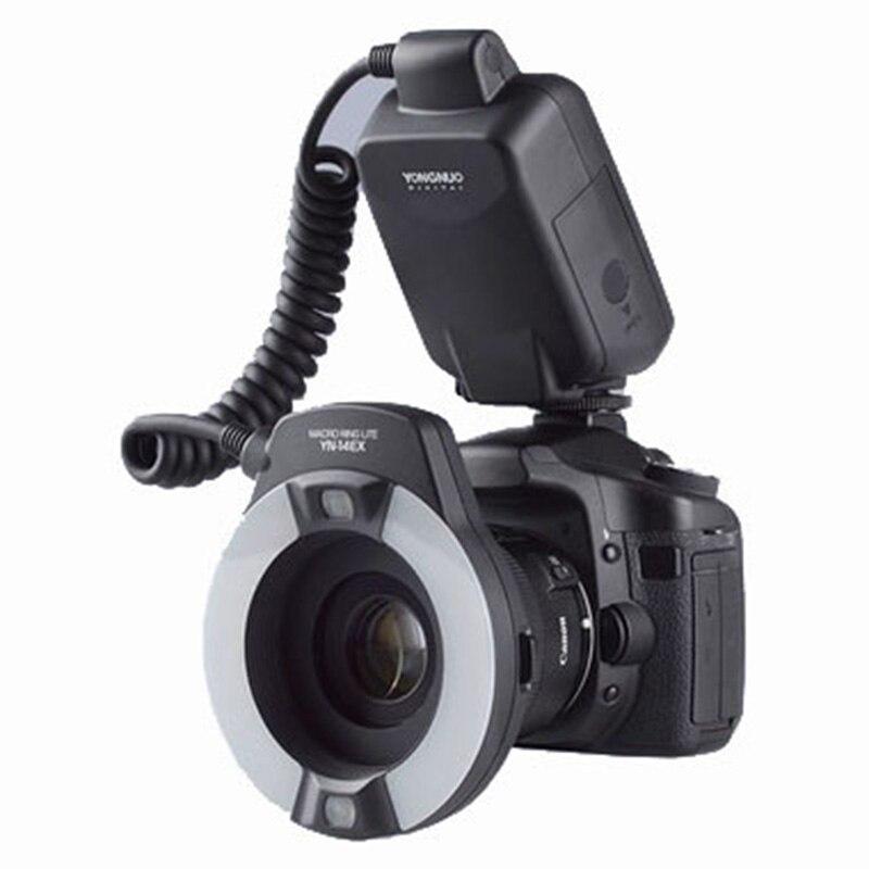 Yongnuo YN-14EX YongnuoYN 14EX TTL LED Macro Speedlite Ring Flash Light For Canon 5D Mark II 5D Mark III 6D 7D 60D 70D 700D 650D