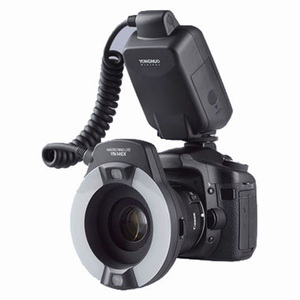Image 1 - Yongnuo YN 14EX YongnuoYN 14EX TTL LED מאקרו Speedlite טבעת פלאש אור עבור Canon 5D Mark II 5D סימן III 6D 7D 60D 70D 700D 650D