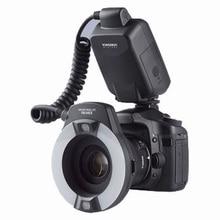 Yongnuo YN 14EX YongnuoYN 14EX TTL LED makro Speedlite lampa pierścieniowa światło dla Canon 5D znak II 5D znak III 6D 7D 60D 70D 700D 650D