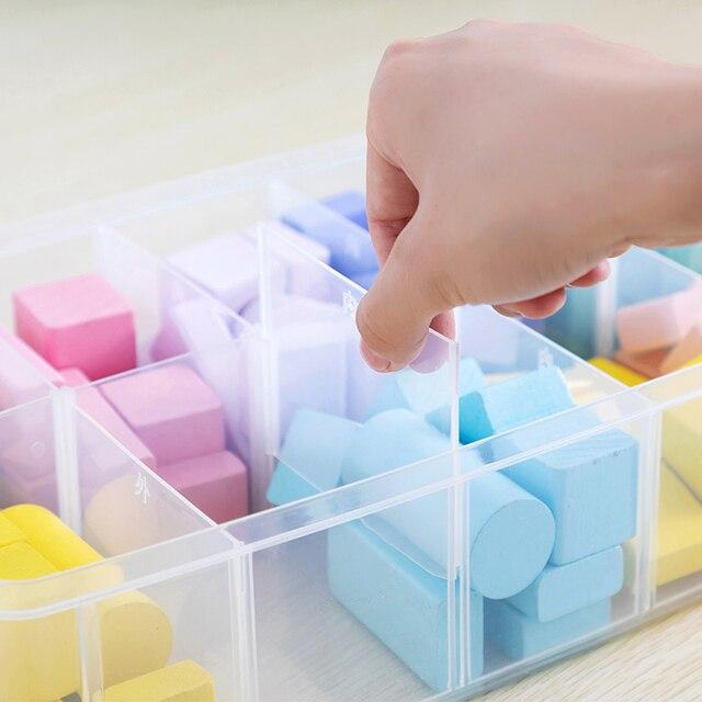 Lego Building Blocks storage Box Plastic Transparent 4