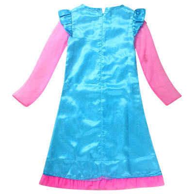 בגדי ילדים בנות שמלות פרג טרול תחפושות בגדים עבור בנות ילדים ליל כל הקדושים תלבושות קרנבל בנות פאות