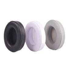 sheepskin 90MM For Beats studio2 studio3 Headphones Replacement Headset Ear Pads Noise Isolation Adaptive Ear Cushion Ear Cups