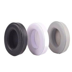 Image 1 - sheepskin 90MM For Beats studio2 studio3 Headphones Replacement Headset Ear Pads Noise Isolation Adaptive Ear Cushion Ear Cups