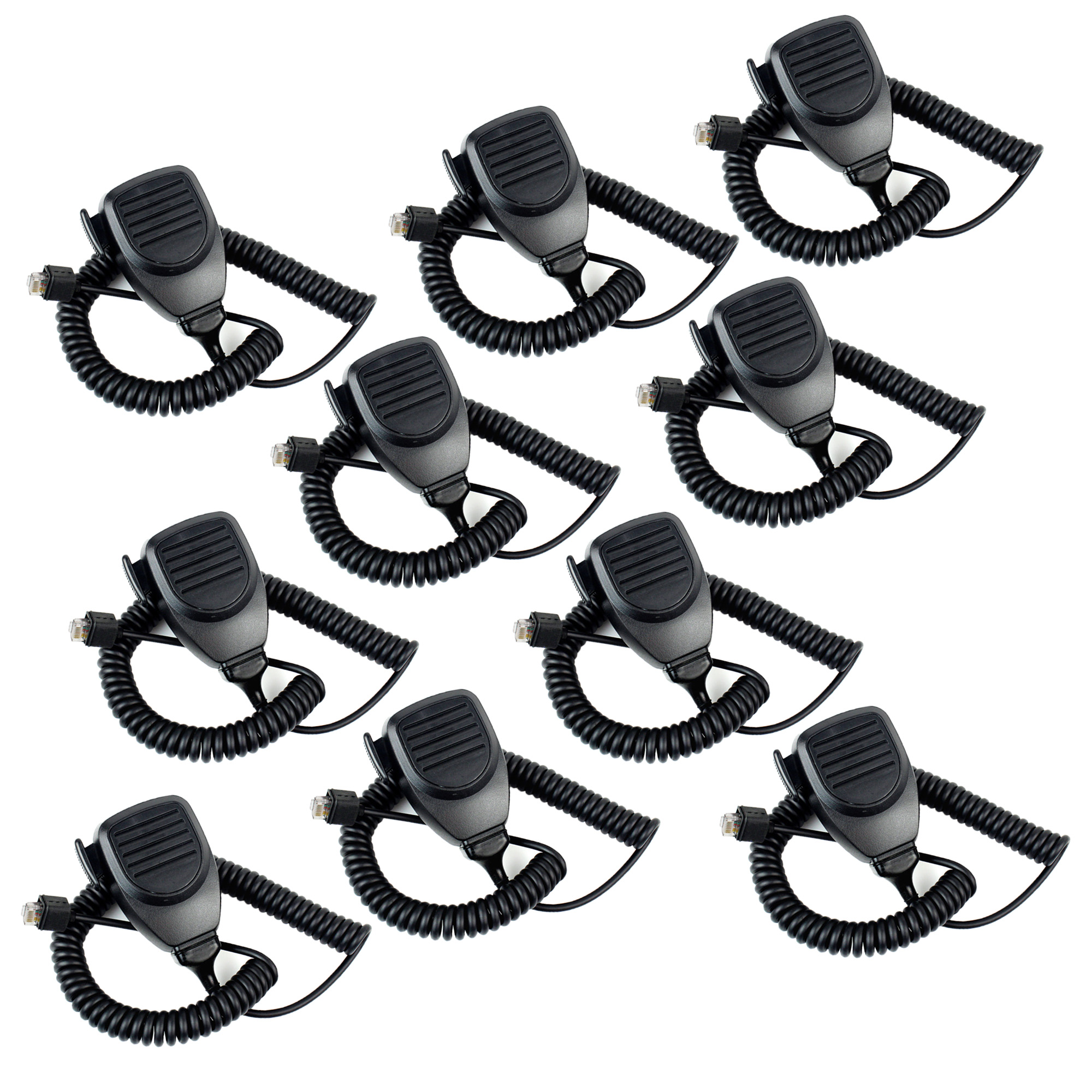 10pcs MT-KMC30 8Pin Microphone For Kenwood TK-730 TK-760 TK-768 TK-830 Mobile Radio J6208A