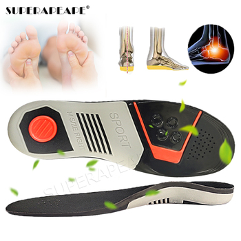 Orthopedic insoles flat foot orthopedic Sport Insole arch support man women Sole Pad for Shoes insert shock absorption insoles demine eva orthopedic insoles arch support casual half cushion for flat foot shock absorbant walking breathable shoes insert pad