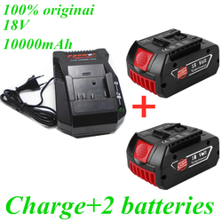 Charger for Bosch Electric Drill 18V 10000 mAh Li-ion Battery BAT609, BAT609G, BAT618, BAT618G, BAT614, 2607336236 charger