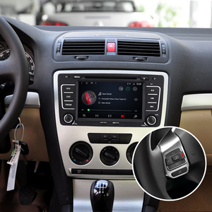 Image 4 - Isudar 2 Din Android 9 Auto Radio For SKODA/Octavia 2009 2013 Car DVD Multimedia GPS Octa Core RAM 2GB ROM 32GB Camera DSP DVR