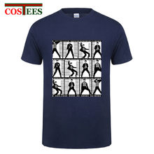 Vintage Musim Panas Gaya Film Elvis Katun Hip Hop Elvis Presley Pose T Shirt Raja Rock Pria Wanita T-shirt Punk cosplay Tops Tee(China)