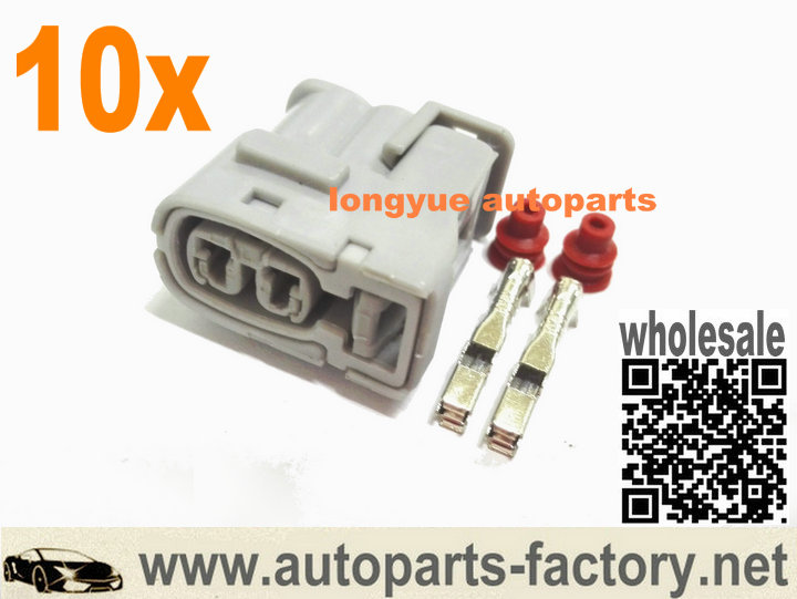longyue 10set Ignition Coil Connector for <font><b>Toyota</b></font> <font><b>1JZ</b></font> <font><b>2JZ</b></font> <font><b>1JZ</b></font> GTE <font><b>2JZ</b></font> GTE for Lexus SC300 for Mazda RX7 S6/7 image