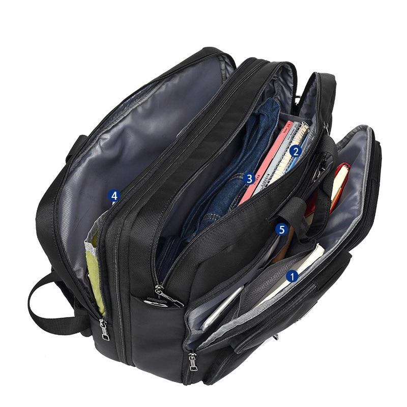 17 3 Vintage Briefcases Men Office Laptop Work Bag Man Convertible Business Multifunction Computer Handbag Travel 17.3 Vintage Briefcases Men Office Laptop Work Bag Man Convertible Business Multifunction Computer Handbag Travel Tote Bag XA229