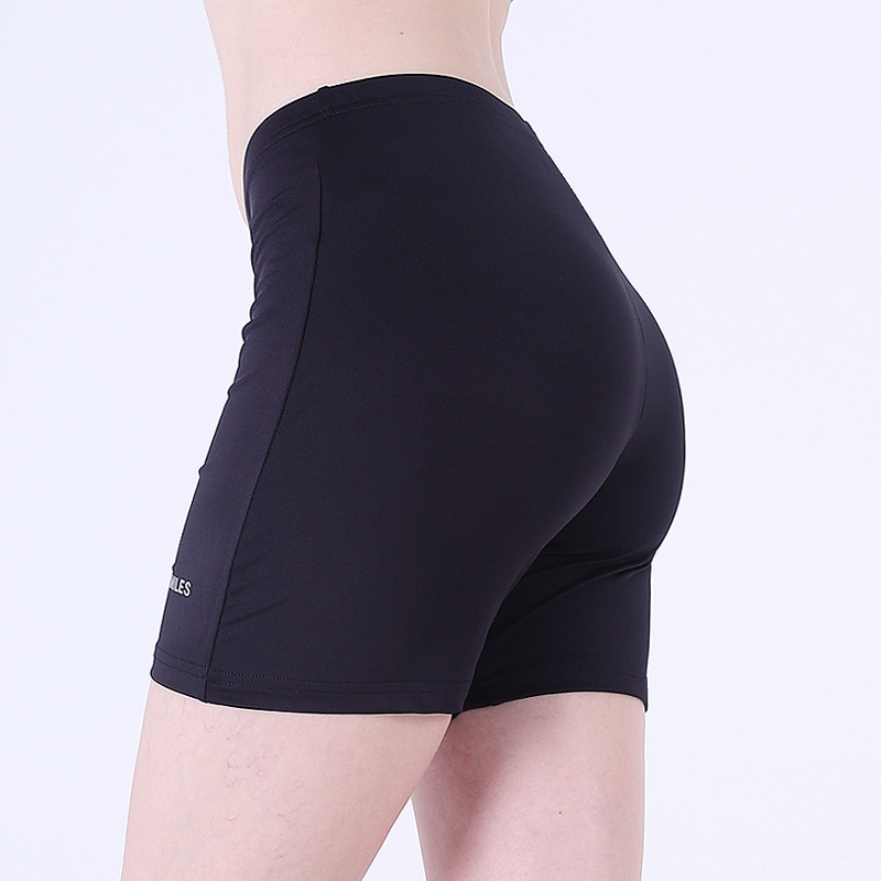 Summer Yoga Quick-Dry Shorts Women's High-waisted Tight Exaggerates Hips Fitness Training Athletic Pants Peach Riding Swimming T