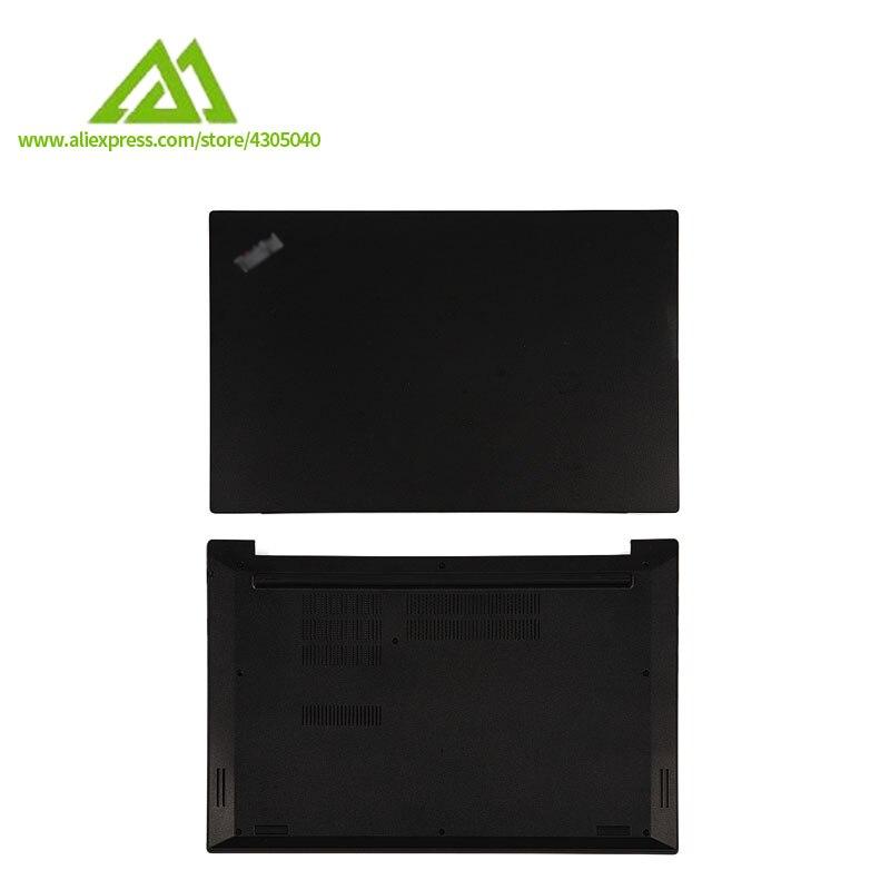 Novo original para lenovo thinkpad e580 e585 portátil lcd tampa capa & base inferior ap1aj000300 am167000100