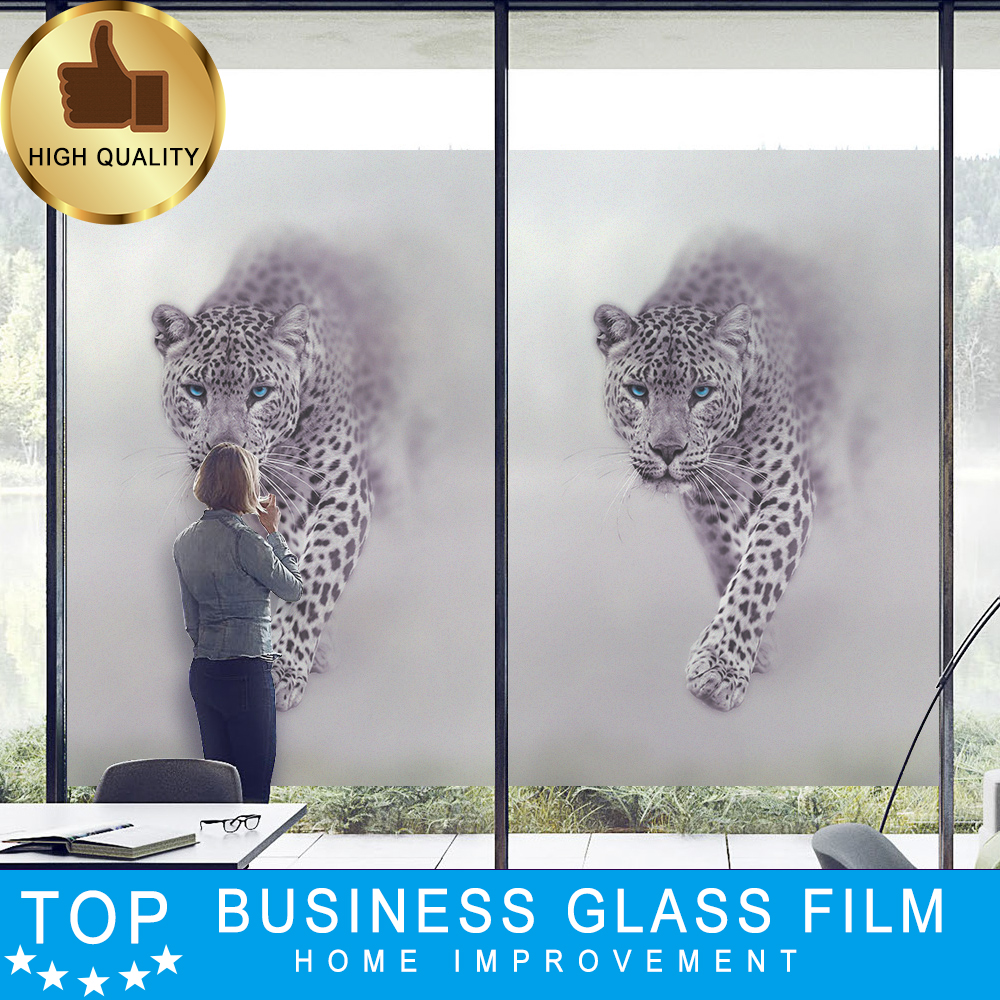 Home Improvement Window Accessories Window Foils Solar Protection Stained Glass Adhesive Film Heat Transfer Vinyl Stained Glass