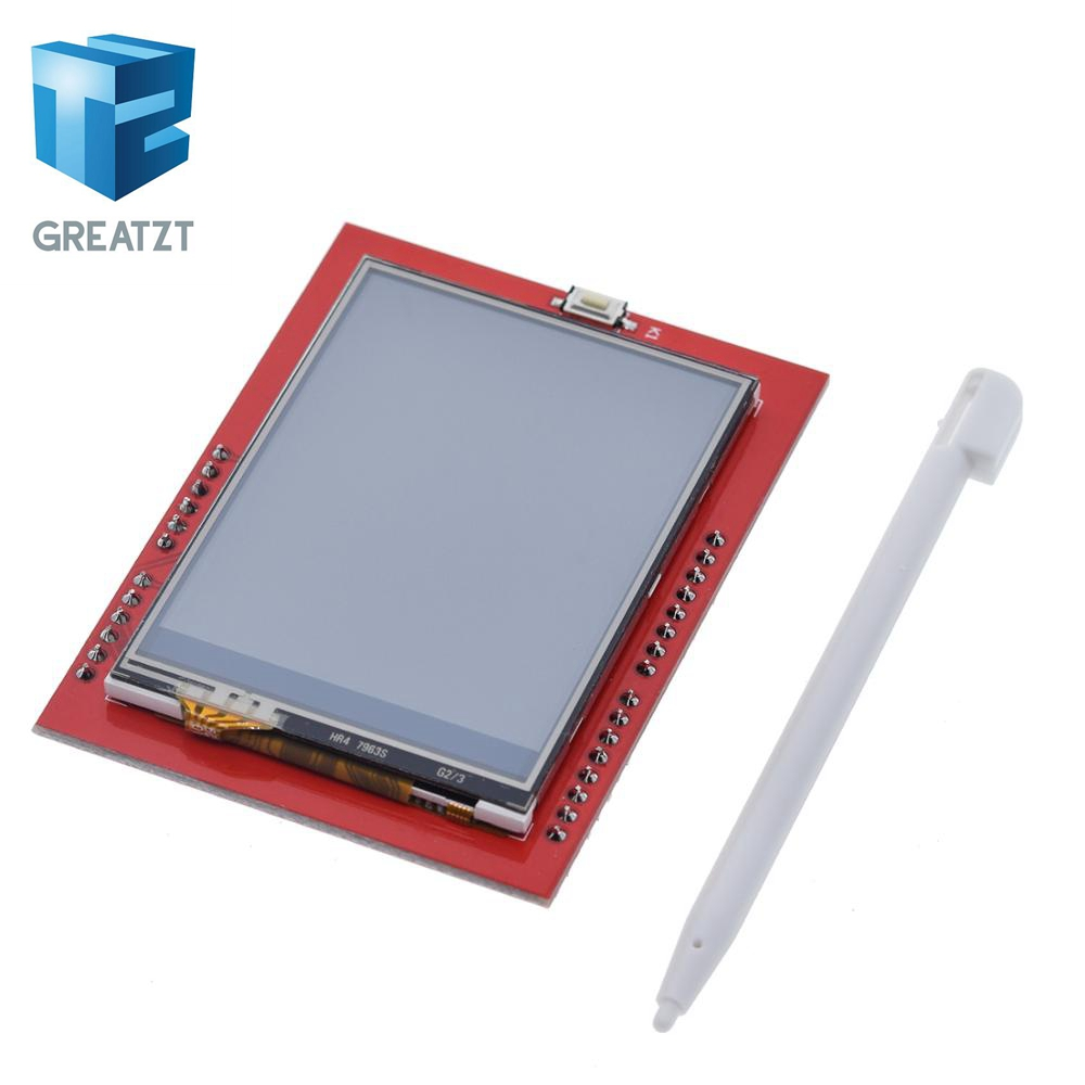 GREATZT LCD Module TFT 2.4 Inch TFT LCD Screen For Arduino UNO R3 Board And Support Mega 2560 With Touch Pen ,UNO R3