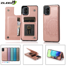 Magnetic Case For Samsung Galaxy A51 A71 A21S A81 A91 A10 A20 A30 A40 A50 A70 S A90 Leather Card Holder Wallet Phone Bags Cover